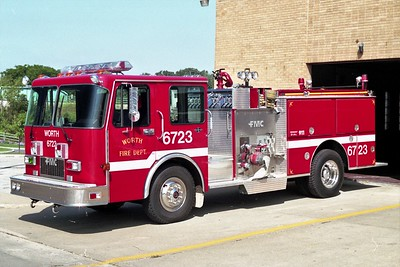 WORTH FD  ENGINE 6723  1990  SPARTAN - FMC   1250-750