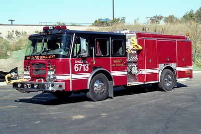 WORTH FD  ENGINE 6713  2004 E-ONE TYPHOON   1500-750    #28639