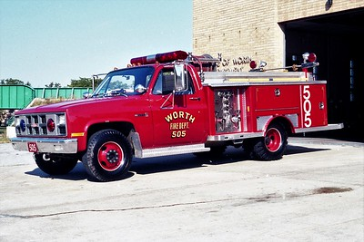 WORTH FD  ENGINE 505  1981  GMC - E-ONE   250-250   #1954 (2)