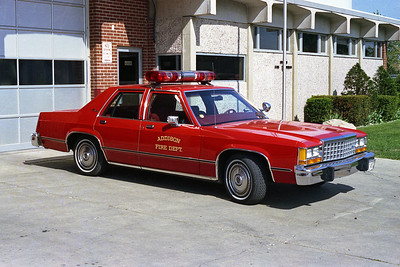 ADDISON FPD  CAR 106  FORD LTD