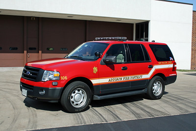 ADDISON FPD  CAR 106  2003  FORD EXPEDITION