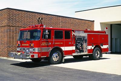 ADDISON FPD  ENGINE 105  1990  PIERCE ARROW   1250-500