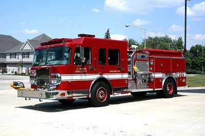 ADDISON FPD  ENGINE 101  2006 SPARTAN DIAMOND - E-ONE  1250-750   #31227