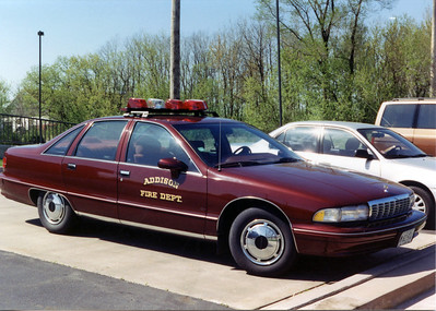ADDISON FPD  CAR  CHEVY CAPRICE