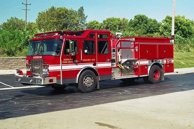 ADDISON FPD  ENGINE 102  2001 E-ONE CYCLONE II  1250-750   #24003