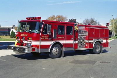 ADDISON FPD  ENGINE 104  1993  E-ONE CYCLONE   1250-750   12649