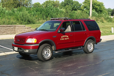 ADDISON FPD  CAR 120  2001 FORD EXPEDITION