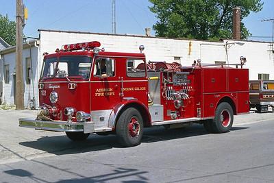 ADDISON FPD  ENGINE 102  1976  SEAGRAVE   1250-500   F73524