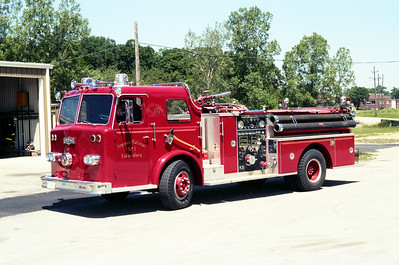 ARGONNE  ENGINE 71   1963 PIRSCH - 1982 PIERCE   1250-500   #2685 - 7592-D