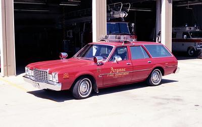ARGONNE  CAR 101  1976 PLYMOUTH VOLARE