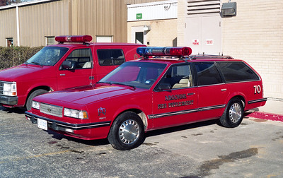 ARGONNE  CAR 70  1987 GMC SAFARI