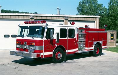 ARGONNE  ENGINE 111  1991 E-ONE CYCLONE   1500-750-20F   #8842