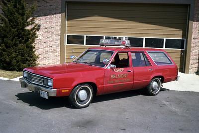 BELMONT FPD  CHIEFS CAR