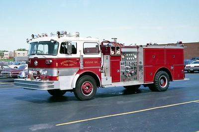 BENSENVILLE FD  ENGIINE 84  1974  PEMFAB - PIERCE   1250-750   #8183-C