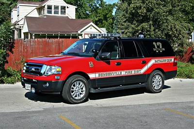BENSENVILLE FPD  BATTALION 17  2011  FORD EXPEDITION