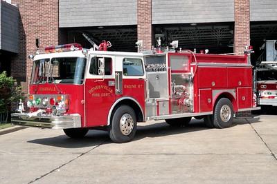 BENSENVILLE FD  ENGINE 87  1985  SPARTAN - E-ONE   1500-750   #4035
