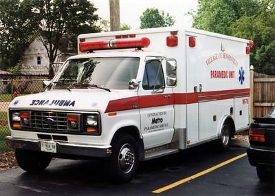 BENSENVILLE  MEDIC 78  FORD E350 - HORTON