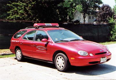 BENSENVILLE FD   CAR 76  2006  FORD TAURUS