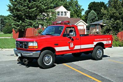 BENSENVILLE FPD UTILITY 75  1996  FORD F250