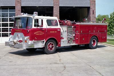 BENSENVILLE FD  ENGINE 85  1971  MACK CF   1250-750   CF600-1350