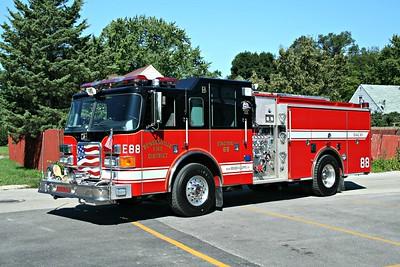 BENSENVILLE FD  ENGINE 88  2006  PIERCE ENFORCER   1250-750   #17593