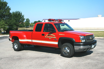 BLOOMINGDALE FPD  SQUAD 12  2003  CHEVY 3500 4X4