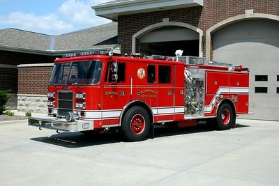 BLOOMINGDALE FPD  ENGINE 5   1995  PIERCE LANCE   1500-750   E-8898   2008  RPI REHAB