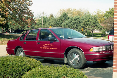 BLOOMINGDALE FPD  CAR 1  CHEVY CAPRICE