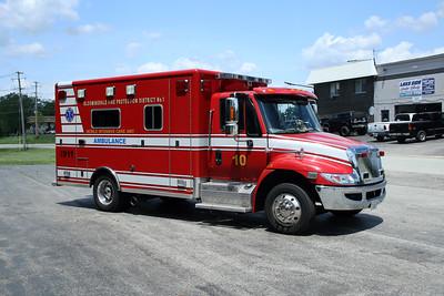 BLOOMINGDALE FPD  SQUAD 10  2010  IHC 4300 - HORTON
