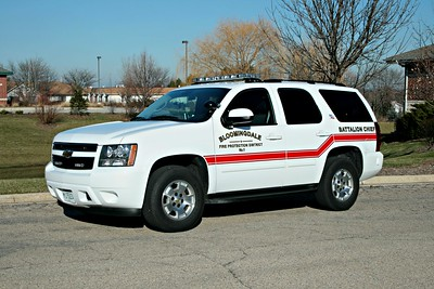 BLOOMINGDALE FPD  BATTALION CHIEF  2011 CHEVY TAHOE