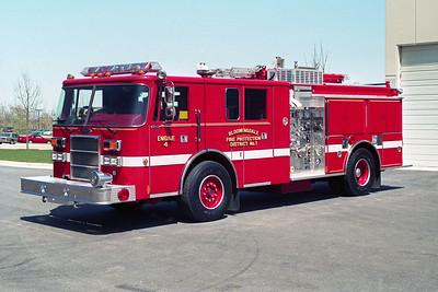 BLOOMINGDALE FPD  ENGINE 4  1993  PIERCE LANCE   1500-750