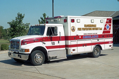 BLOOMINGDALE FPD  SQUAD 10  2010  IHC 4300 - HORTON   DRIVERS SIDE