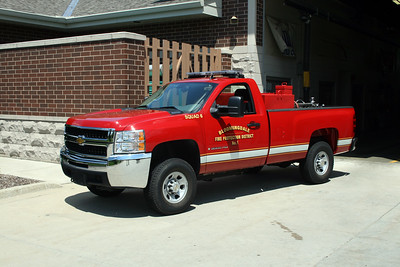 BLOOMINGDALE FPD  SQUAD 6  2007  CHEVY 3500 4X4