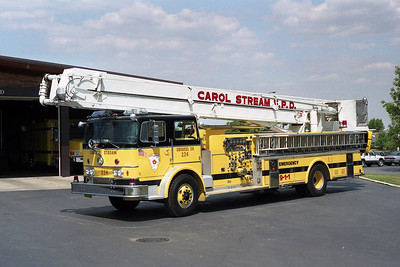 CAROL STREAM FPD TRUCK 224