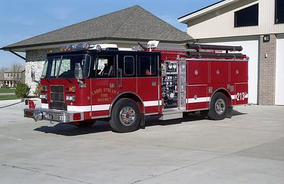CAROL STREAM FPD ENGINE 213