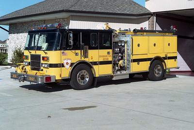 CAROL STREAM FPD ENGINE 212 PIERCE