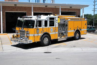 CLARENDON HILLS  ENGINE 86   PIERCE DASH