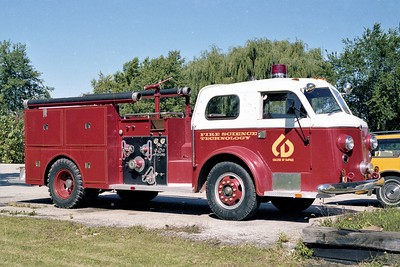 COLLEGE OF DUPAGE FIRE SCIENCE PROGRAM  1948  ALFCO   1000-250  X- JOLIET FD  BODY BUILT BY COD STUDENTS