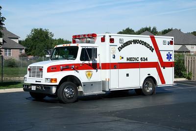 DARIEN WOODRIDGE  MEDIC 634   IHC 4700 -