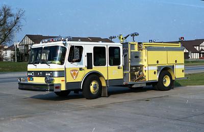 DARIEN WOODRIDGE ENGINE 371   E-ONE HURRICANE