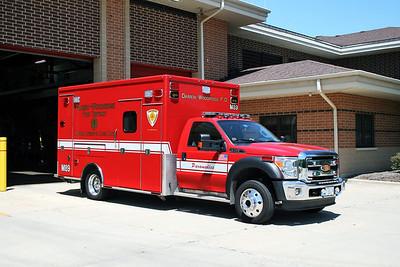 DARIEN WOODRIDGE   MEDIC 89   FORD F -