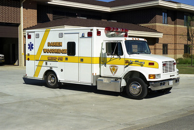 DARIEN WOODRIDGE MEDIC  614   IHC - PASSENGER SIDE