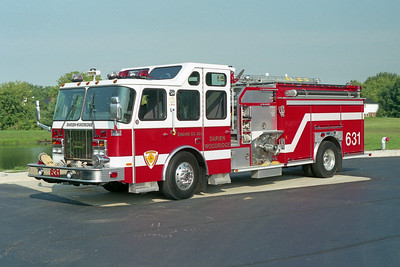 DARIEN WOODRIDGE FPD  ENGINE 631