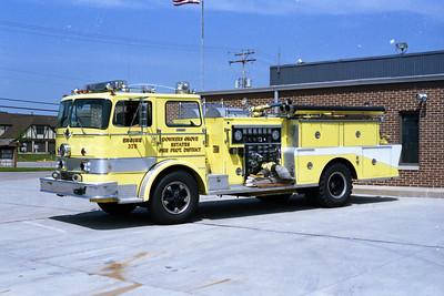 DOWNERS GROVE ESTATES  ENGINE 375   IHC V-190 -