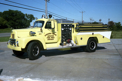 DOWNERS GROVE ESTATES ENGINE 371   IHC R190 - DARLEY