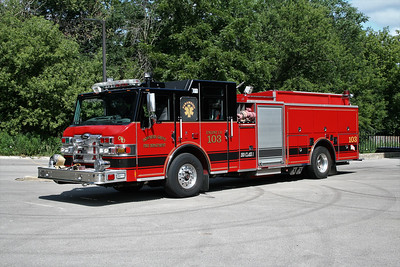 DOWNERS GROVE  ENGINE 103  PIERCE IMPEL
