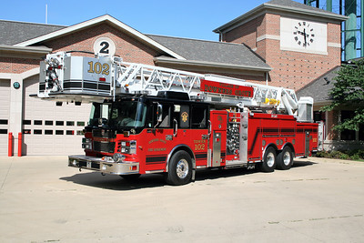 DOWNERS GROVE  TOWER 102  SMEAL SIRIUS  100' TL