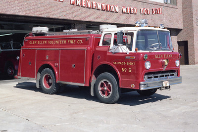 GLEN ELLYN VFD  SALVAGE 5