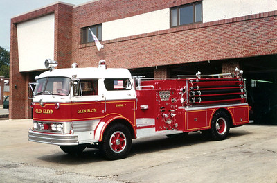 GLEN ELLYN  ENGINE 7  MACK C95