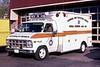 GLENSIDE  AMBULANCE 708  1978 GMC - EVF  ORANGE STRIPE    JEFF SCHIELKE PHOTO
